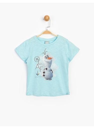 Frozen Tişört Mavi
